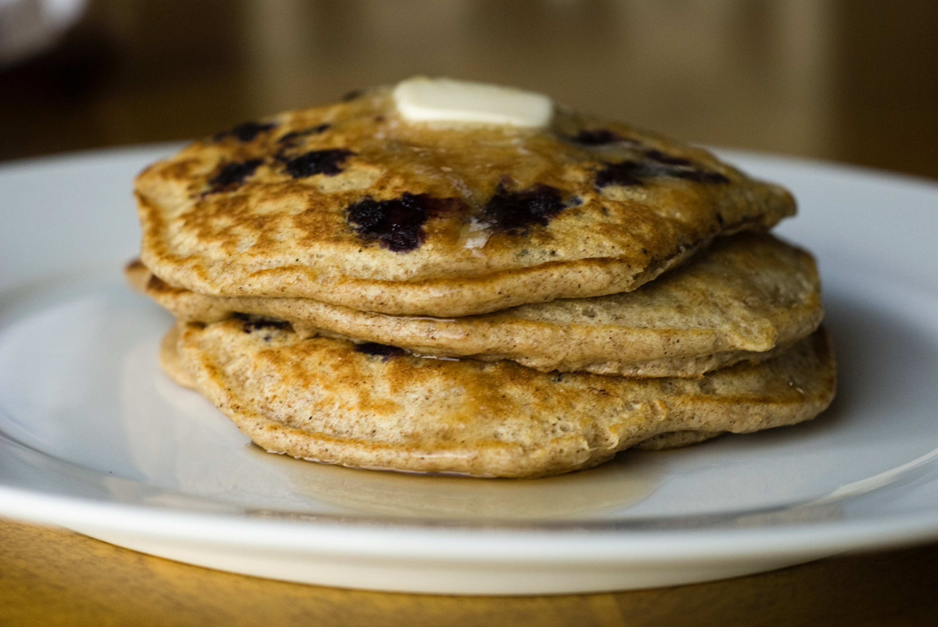 ... pancakes with fresh lemon tree at her house blueberry pancakes
