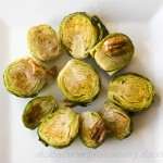 Roasted Brussell Sprouts with Butter Pecan Glaze