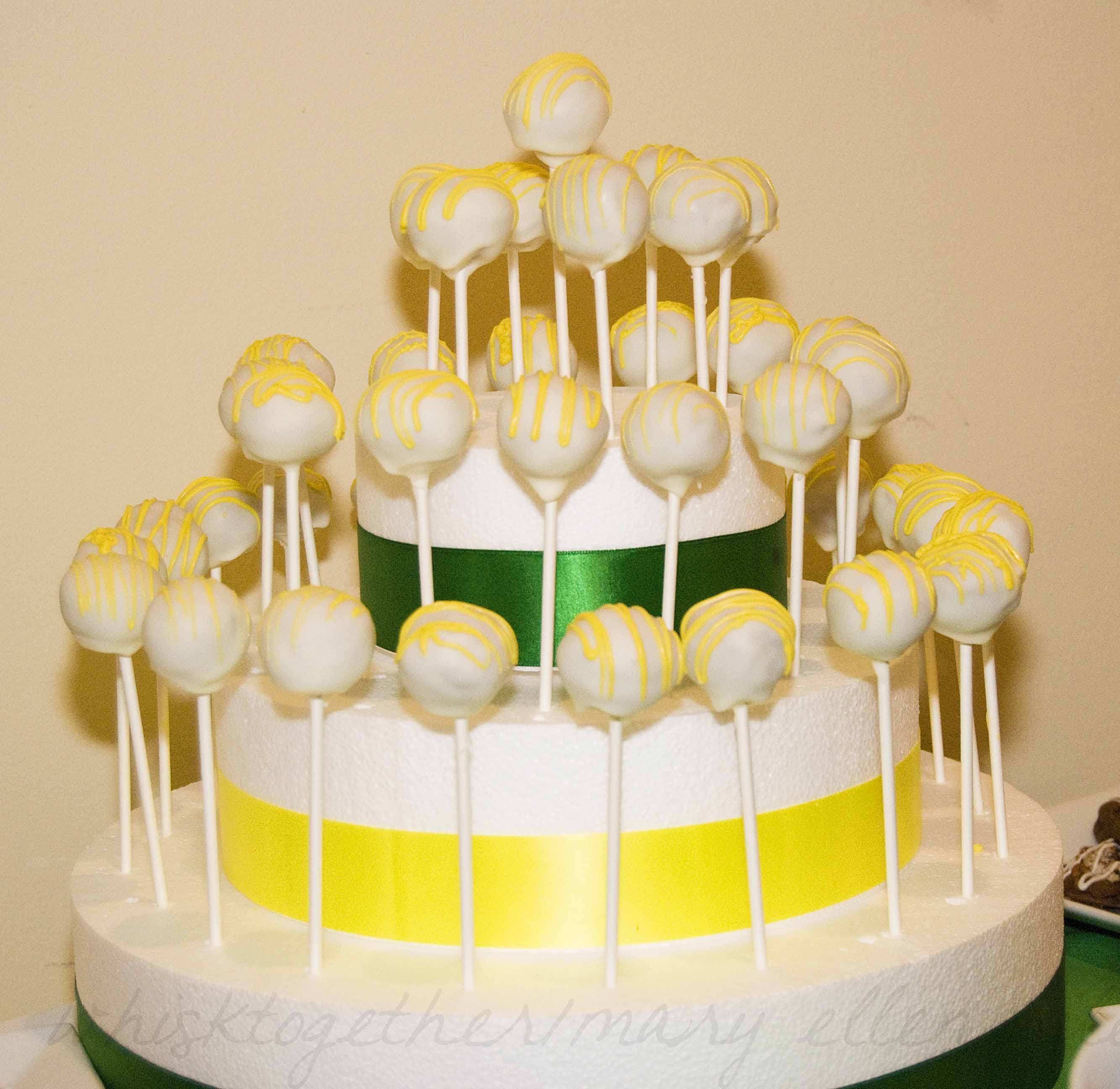 Cake Pop Stand And Dessert Buffet For Weddings Showers