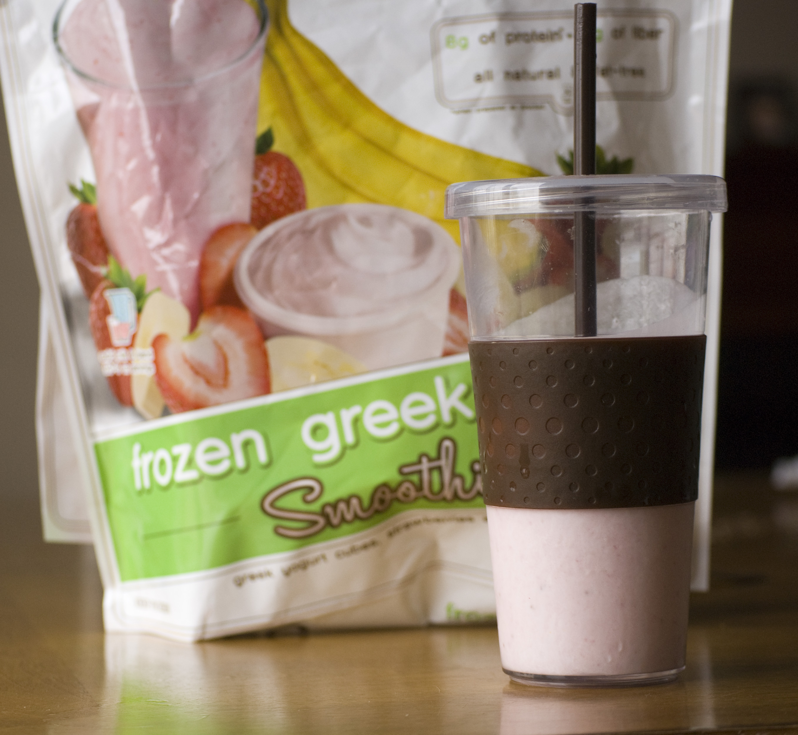 Strawberry Banana Smoothie – Costco Style