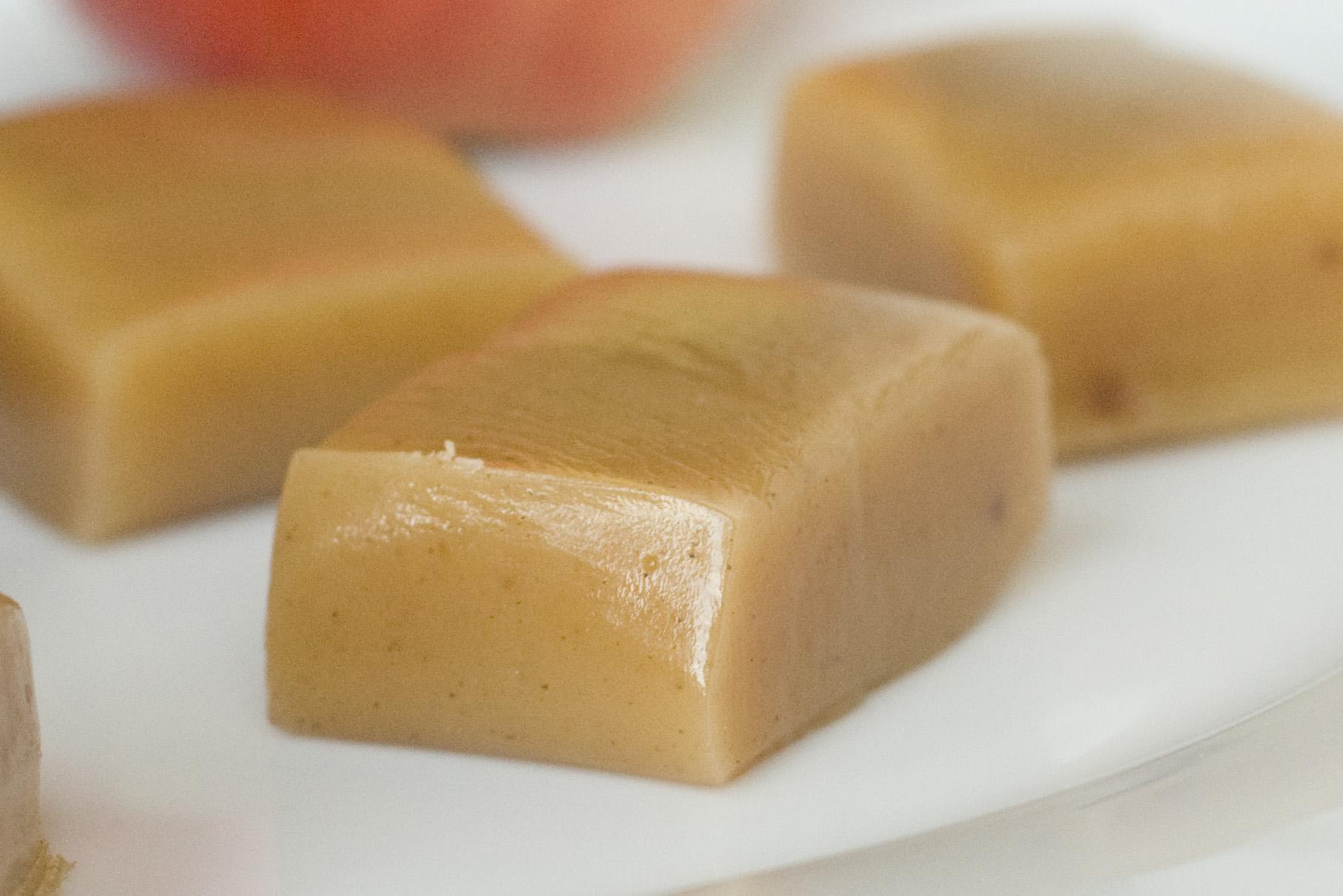 Apple Cider Caramels and Apple Teeth