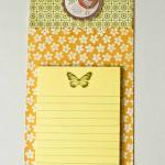 DIY Magnetic Notepad