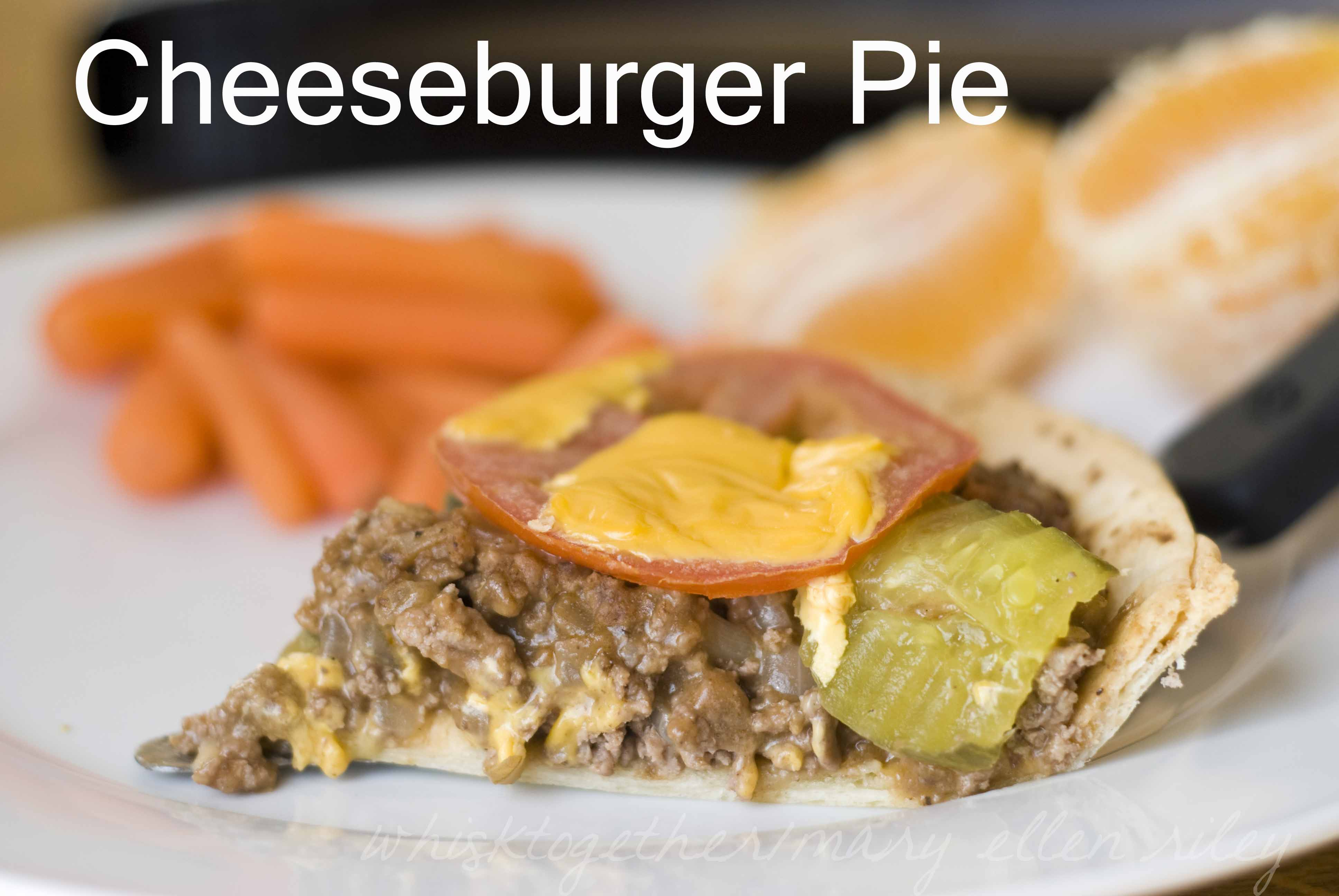 Cheeseburger Pie_4 on Whisk Together