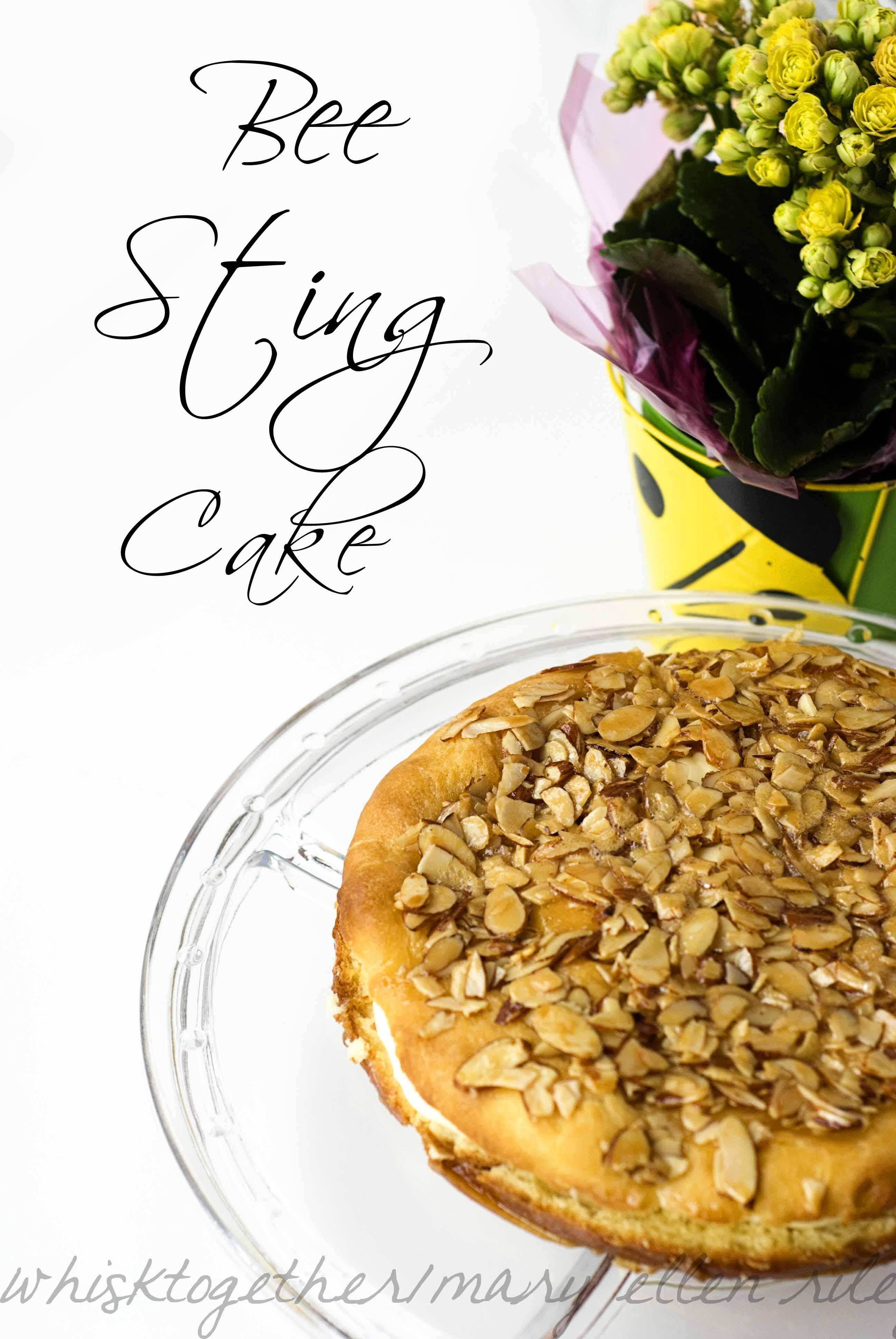Bees Sting Cake Bee Sting Cake Beinenstich