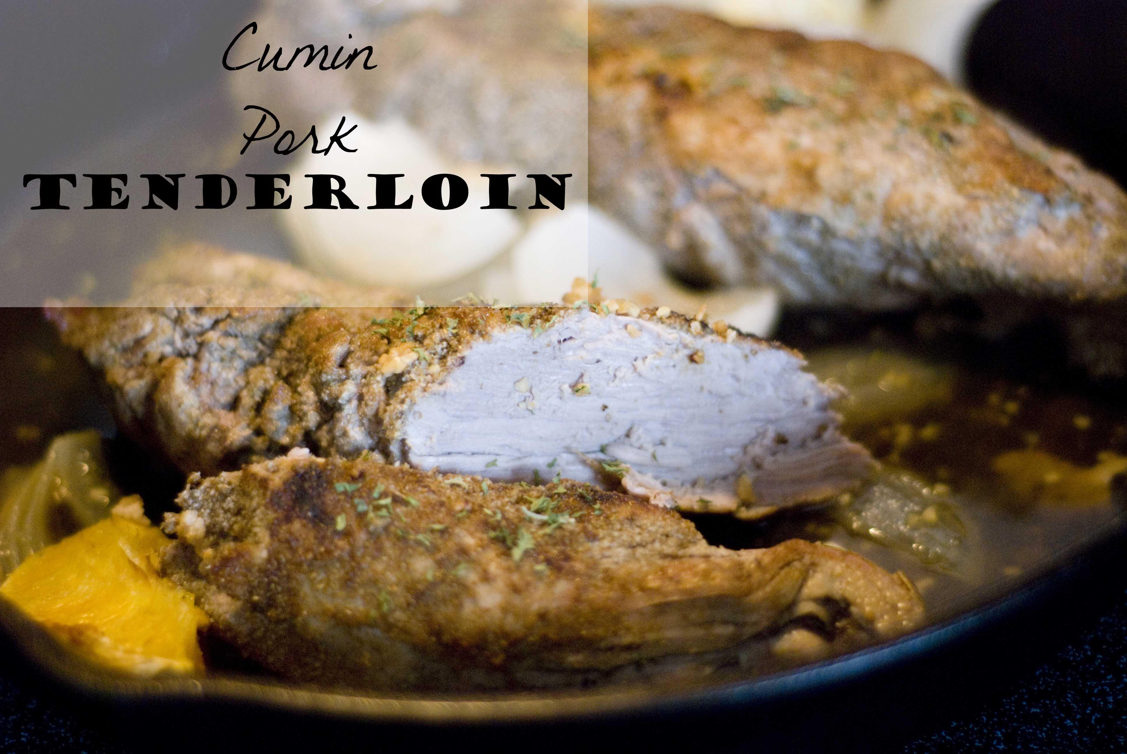 Cumin Pork Tenderloin_1 on Whisk Together