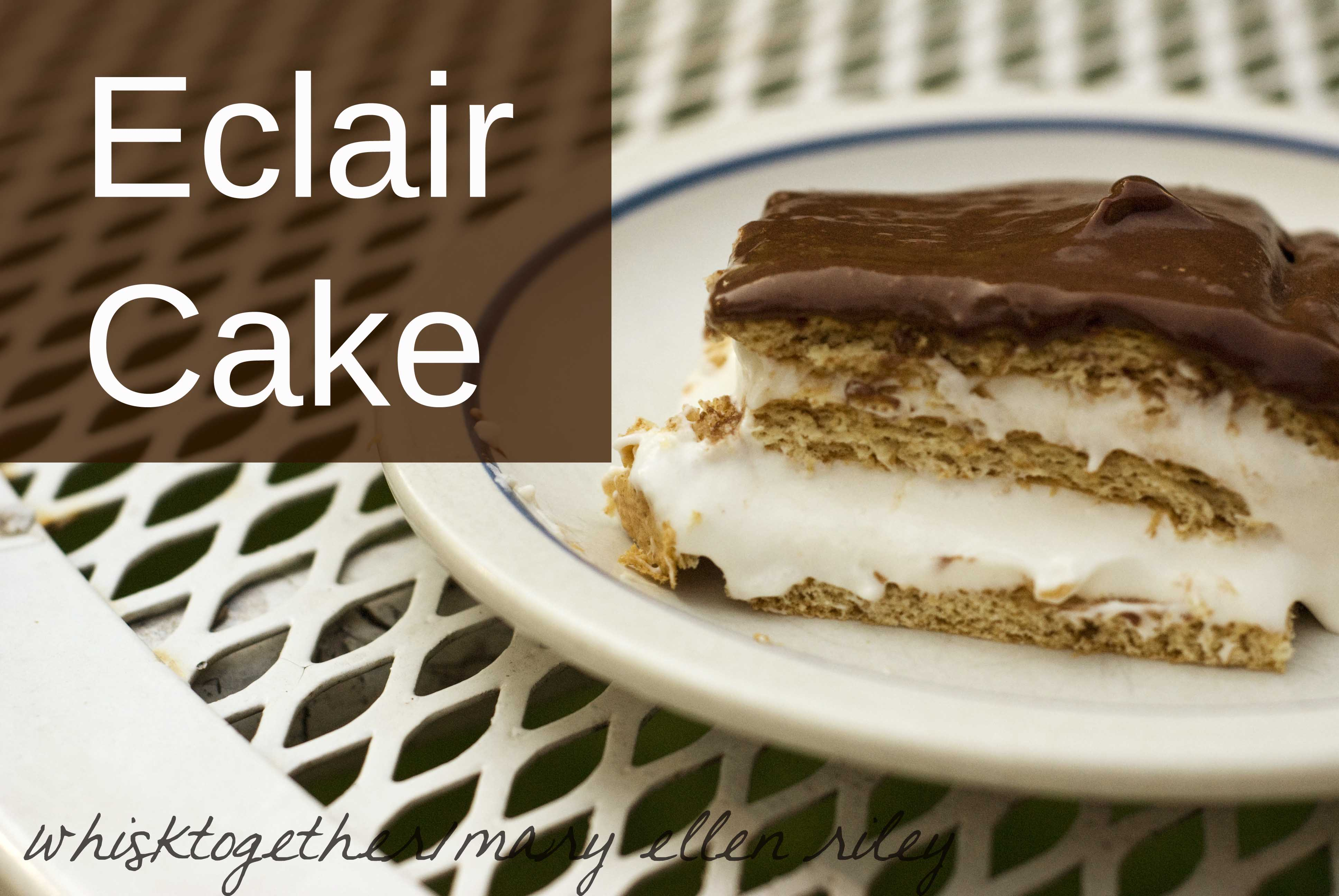 Eclair Cake_1 on Whisk Together
