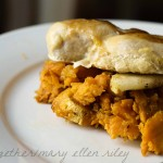 Maple and Cayenne Chicken with Sweet Potato Mash