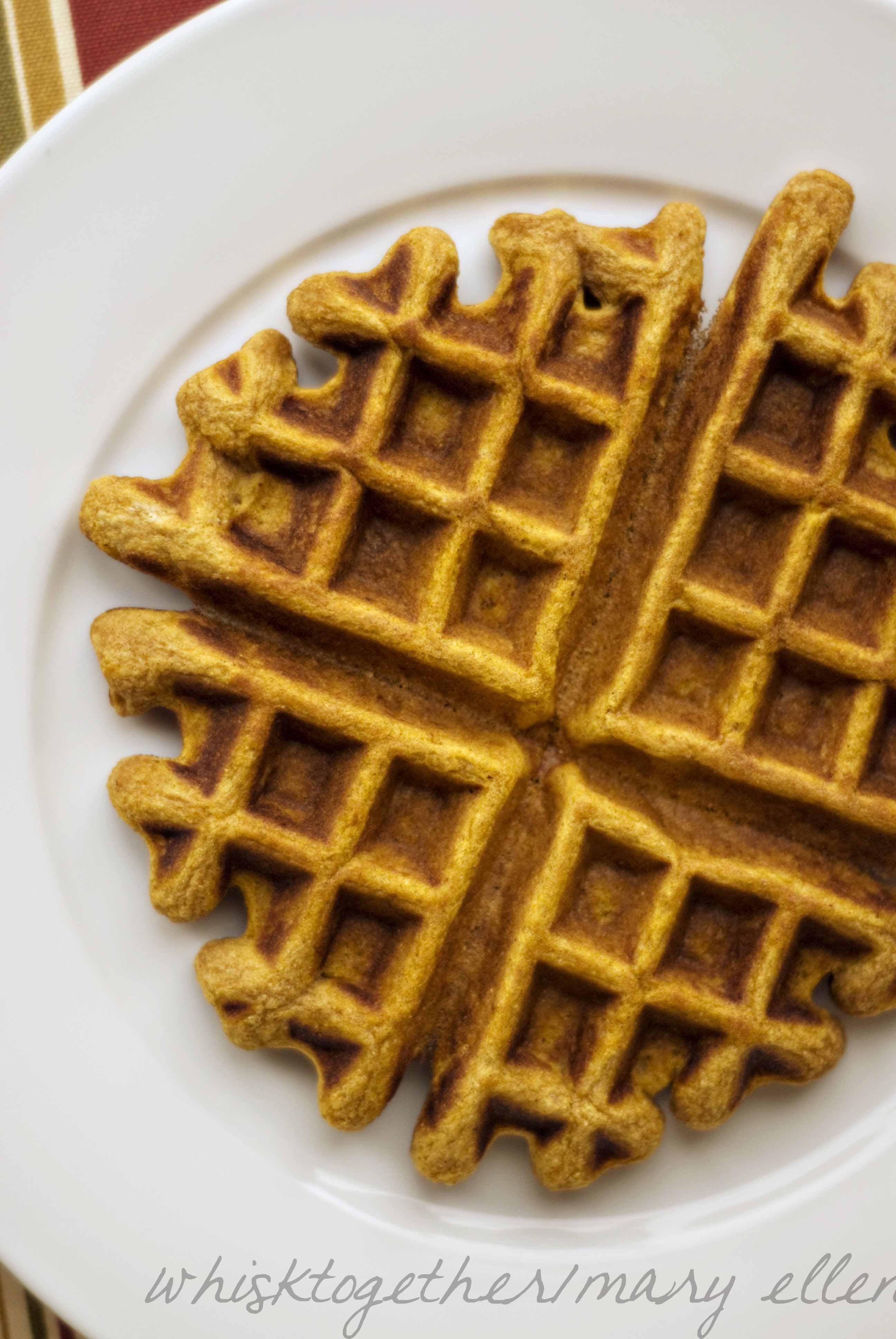 Spiced Pumpkin Waffles Recipes — Dishmaps