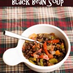 15 Minutes to Black Bean Soup
