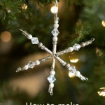 How to Make a Snowflake Ornament