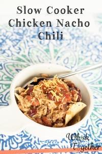 Slow Cooker Chicken Nacho Chili