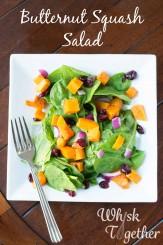 Butternut Squash Salad on Whisk Together-5528