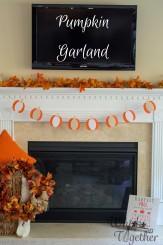 Pumpkin Garland Craft on Whisk Together2-5442-2