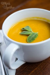 Sweet Potato Carrot Soup on Whisk Together-5460