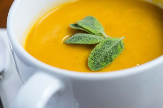Sweet Potato Carrot Soup & Thanksgiving Menu