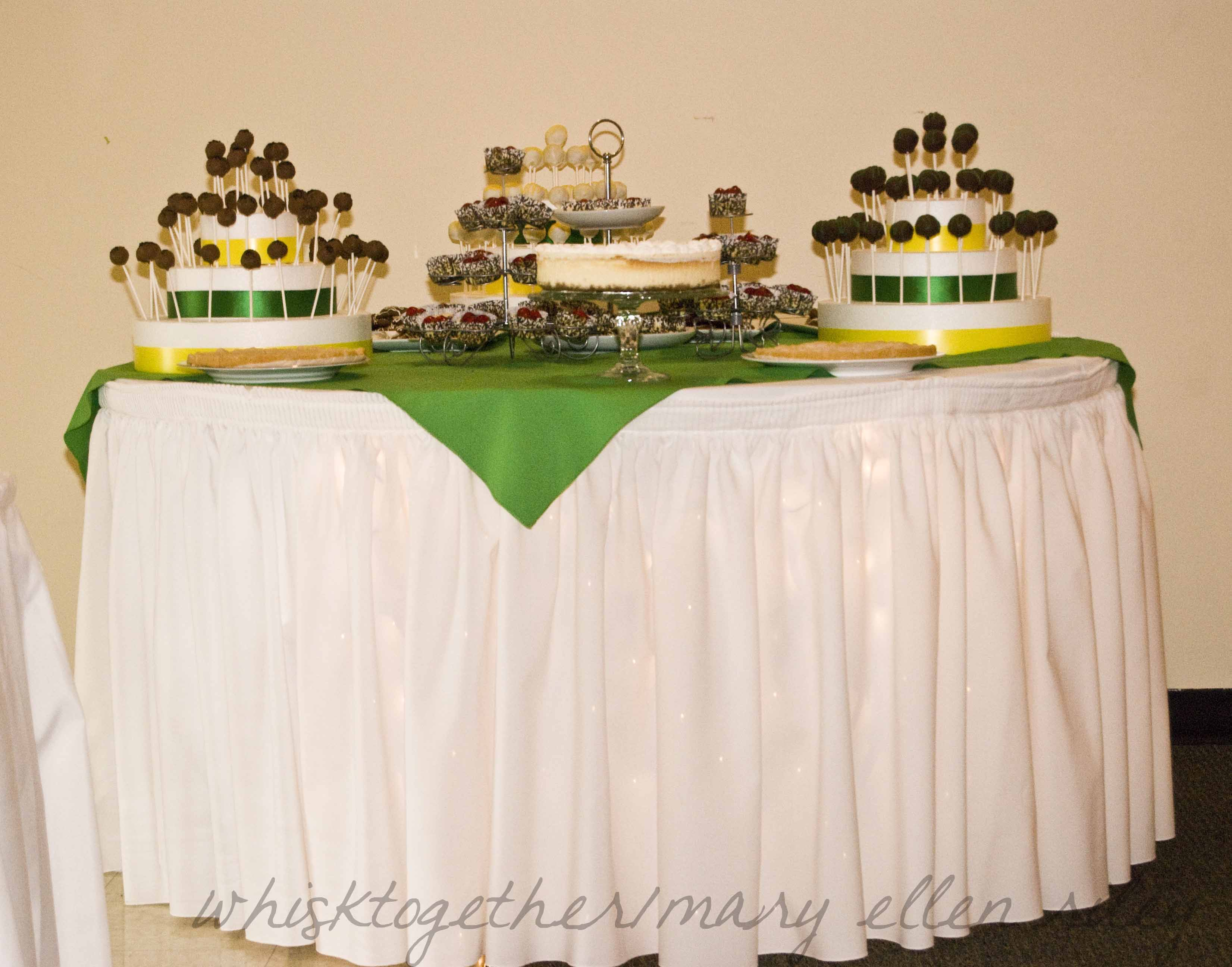 Cake Pop Stand And Dessert Buffet For Weddings Showers Parties